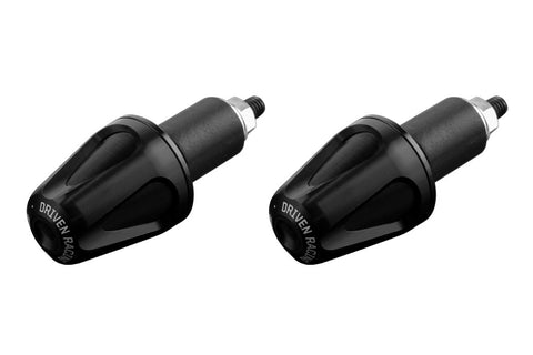 Driven Racing D-Axis Bar End System Black/Black