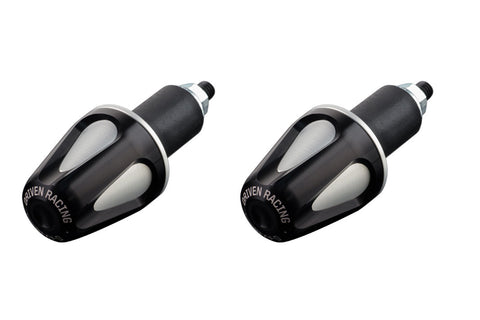 Driven Racing D-Axis Bar End System Black/Silver