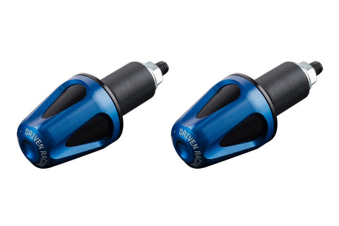 Driven Racing D-Axis Bar End System Blue/Black