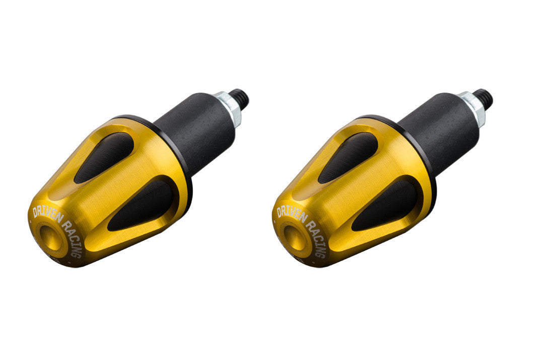 Driven Racing D-Axis Bar End System Gold/Black