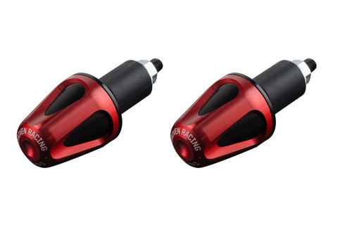 Driven Racing D-Axis Bar End System Red/Black