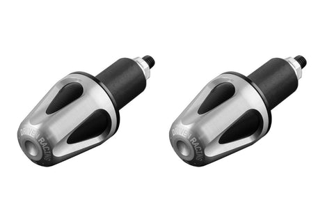Driven Racing D-Axis Bar End System Silver/Black