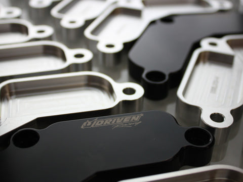 Driven Racing Block Off Plates: Triumph