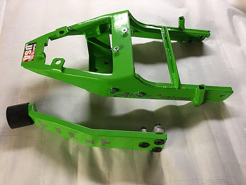 ATown Customs Kawasaki 636 09-15 Rear Half Subframe W/ Integrated 12 Bar