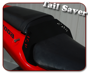 Sick Innovations Honda F4i Dual Seat Tail Saver