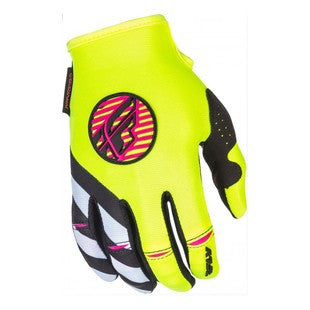 Fly Racing Kinetic Girl's Gloves 2018