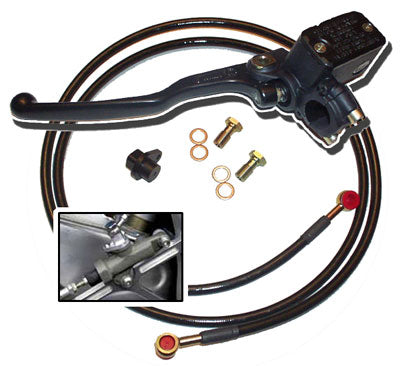 Dual Fitting Rear Hand Brake Kit