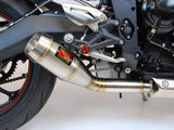 1FNGR Slip On Exhaust - 2013 -16 Street Triple