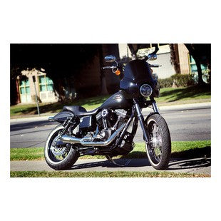 Two Brothers Comp-S Polished Stainless 2-Into-1 Exhaust For Harley Dyna Street Bob FXDB/I 2006–2017 - Tacticalmindz.com