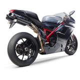 Two Brothers M2 Black Series Slip-On Exhaust Ducati 1198 2009–2011 - Tacticalmindz.com