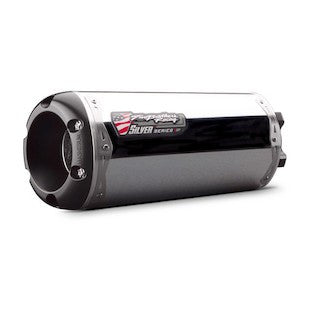 Two Brothers M2 Silver Series Slip-On Exhaust Honda CBR1000RR Repsol 2008–2011 - Tacticalmindz.com