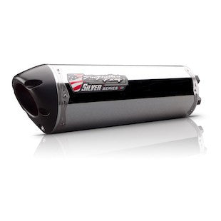 Two Brothers M2 Silver Series Slip-On Exhaust Honda CBR500R 2013–2015 - Tacticalmindz.com