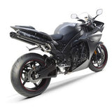 Two Brothers M2 Silver Series Slip-On Exhaust Yamaha R1 LE 2009–2012 - Tacticalmindz.com