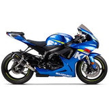 Two Brothers S1R Slip-On Exhaust Suzuki GSX-R600 2011–2017 - Tacticalmindz.com