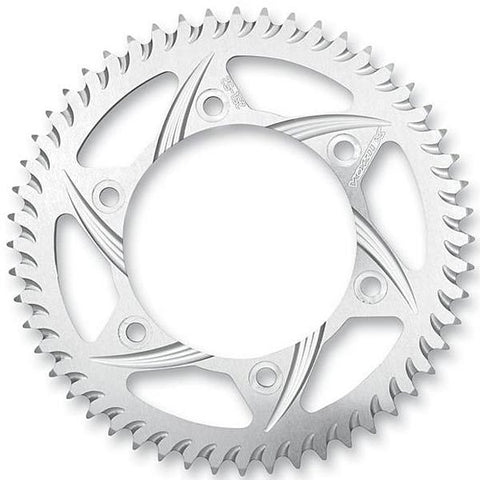 Vortex Racing Aluminum Rear Sprocket - Silver to 66T