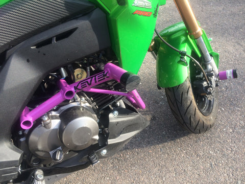 KevTek Kawasaki Z125 Crash Cages
