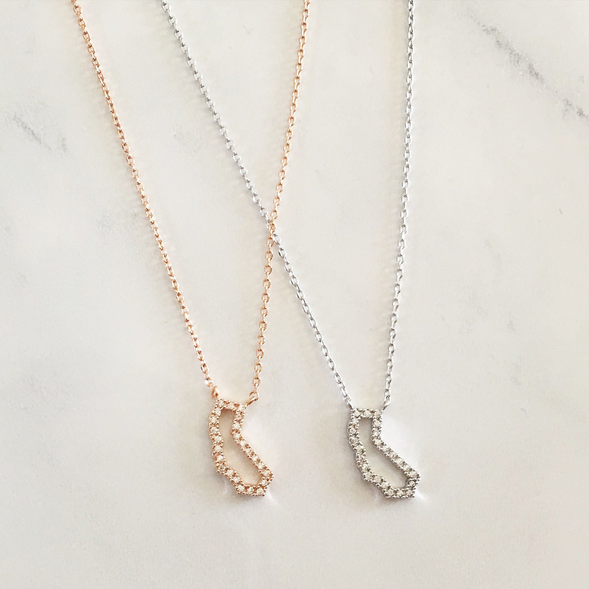 CRYSTAL CALIFORNIA -Necklace
