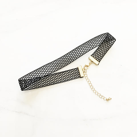 MESH CHOKER - Necklace