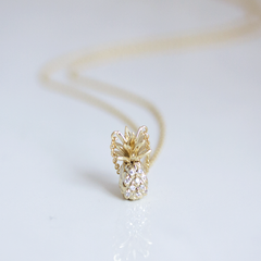 SPARKLE PINEAPPLE -Necklace