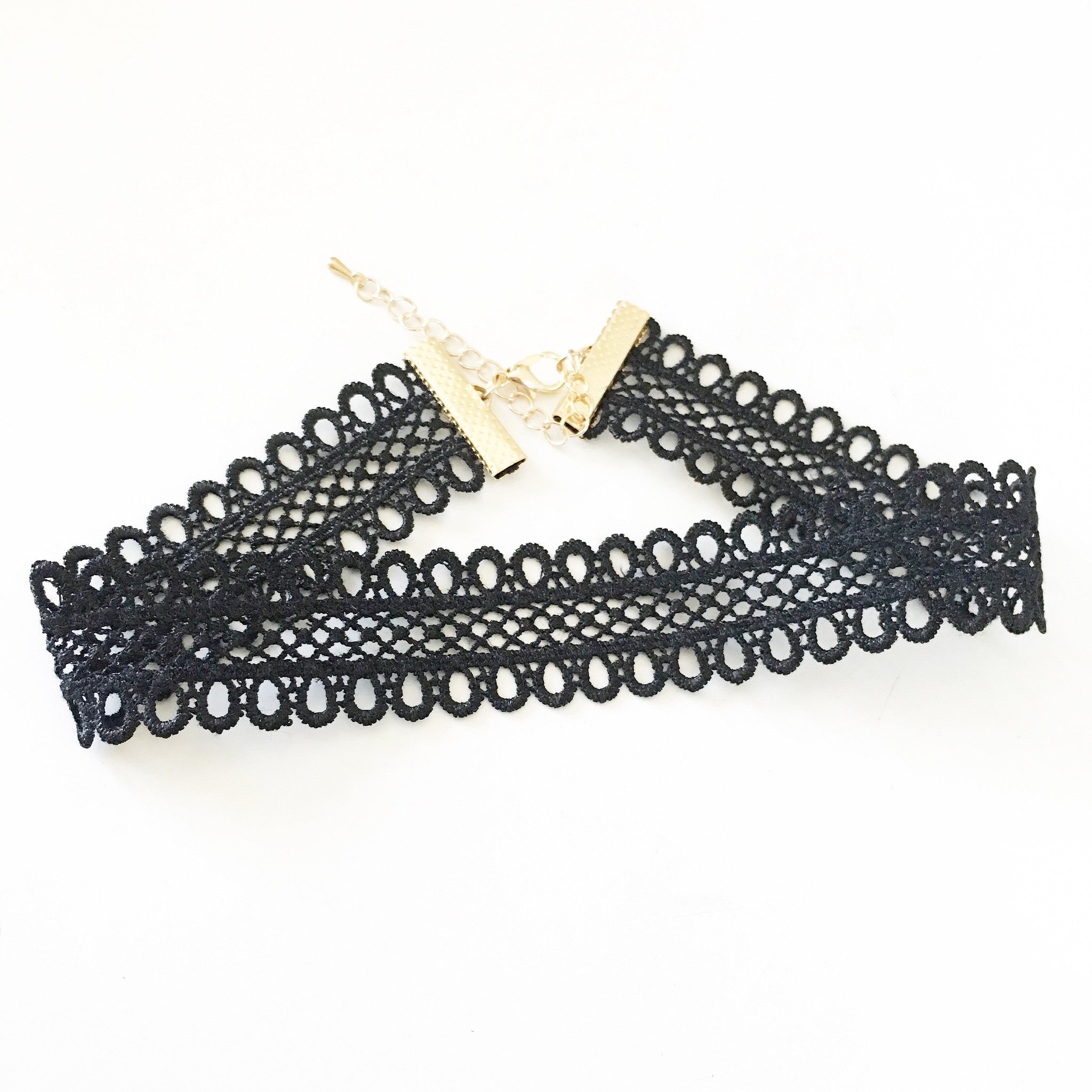 BASIC VENICE LACE - Necklace