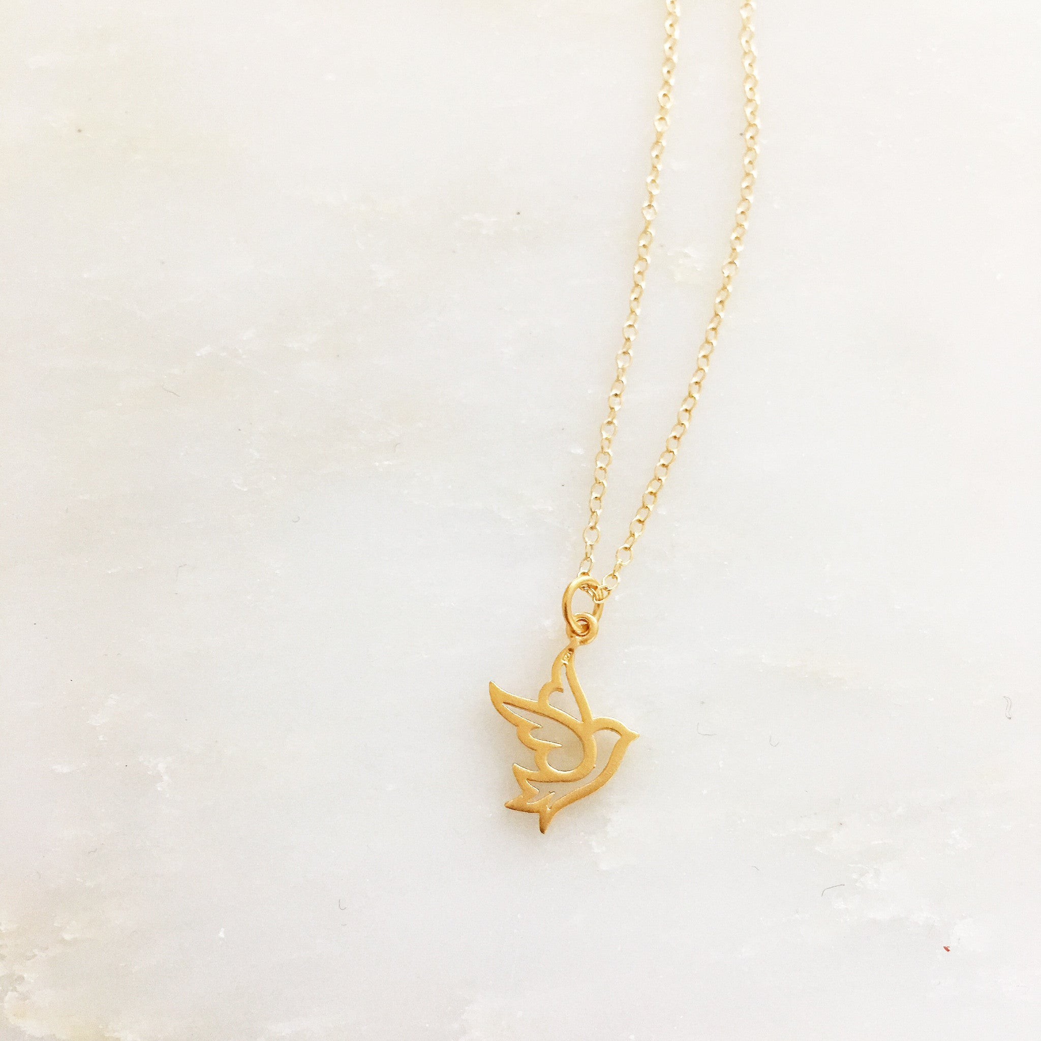 PEACE DOVE -Necklace