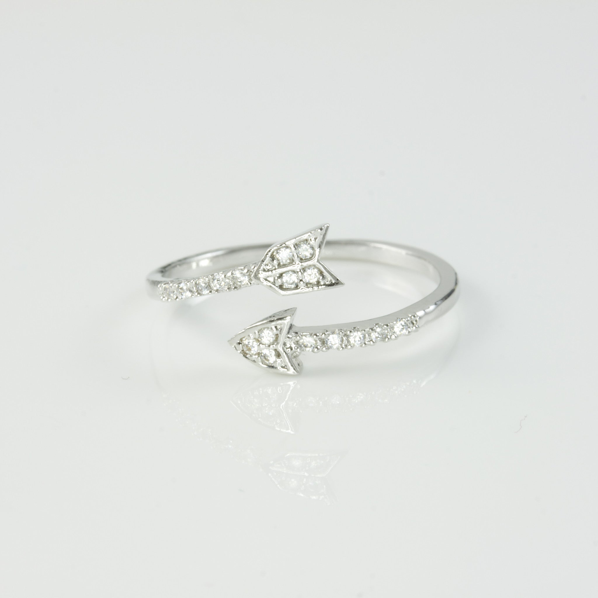 CRYSTAL ARROW - RING