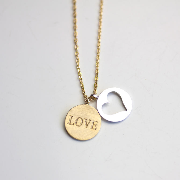 LOVE CHARM -NECKLACE