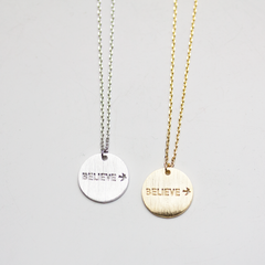 BELIEVE - Necklace
