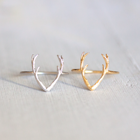 DEER ANTLER - RING
