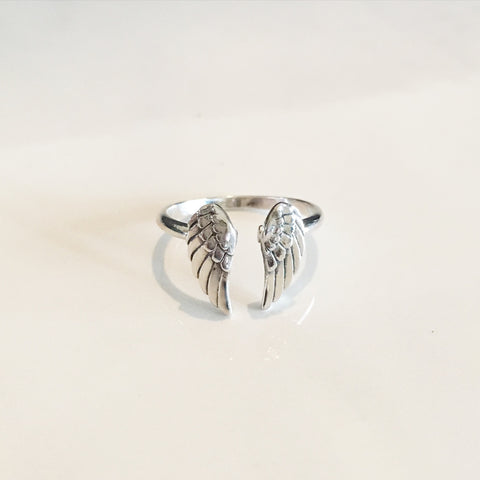 SILVER WING - Ring