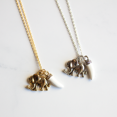 ELEPHANT & TUSK - Necklace