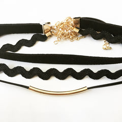 WAVE CHOKER  SET - Necklace