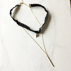 SPIKE + BAR - Necklace