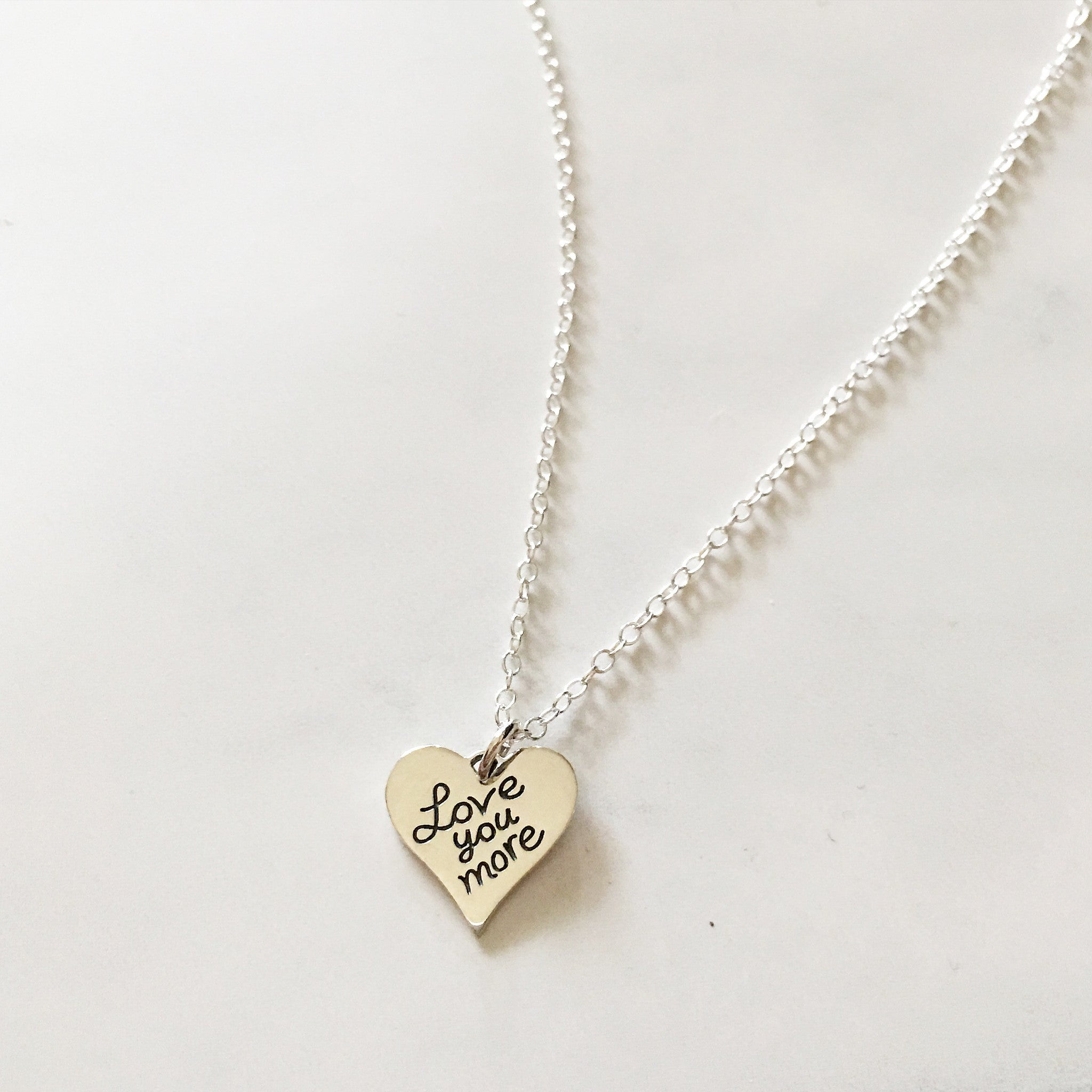 LOVE YOU MORE - Necklace