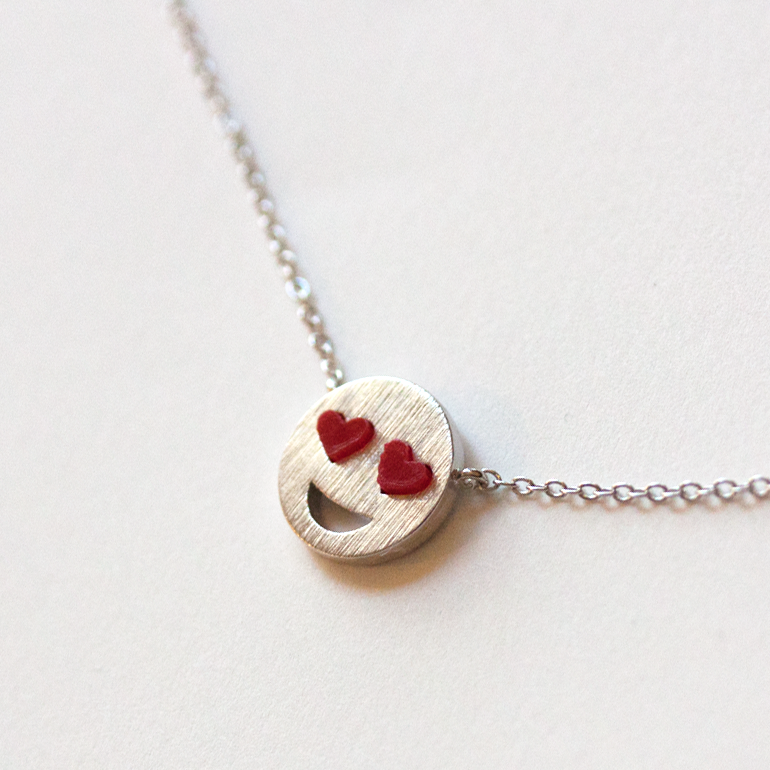 HEART EYE -Necklace