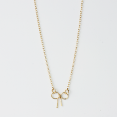 TINY BOW – NECKLACE