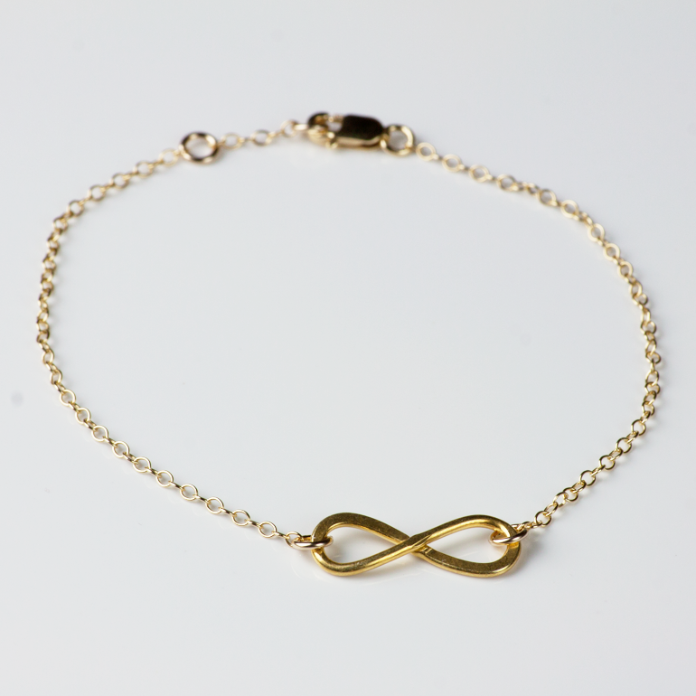 infinity anklet jewelry meyer bracelet gosia shop gold