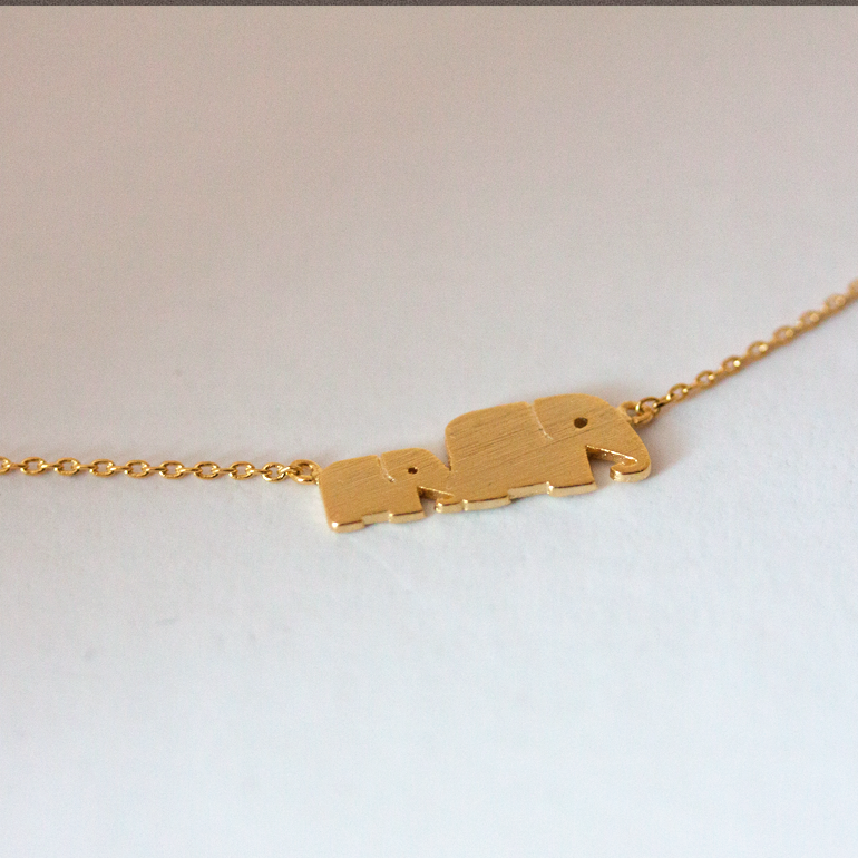 ELEPHANTS -Necklace