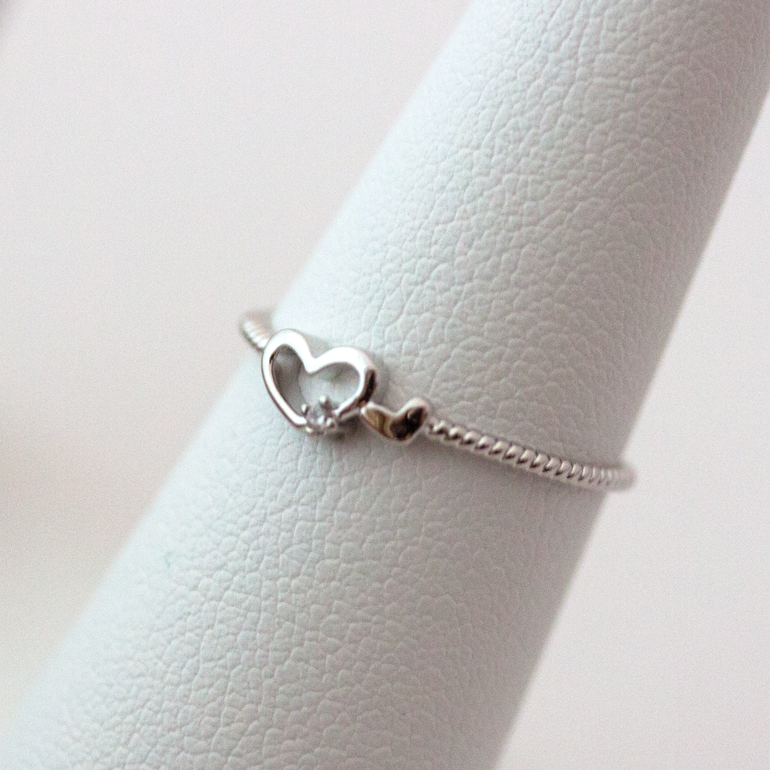 DOUBLE HEART - Ring