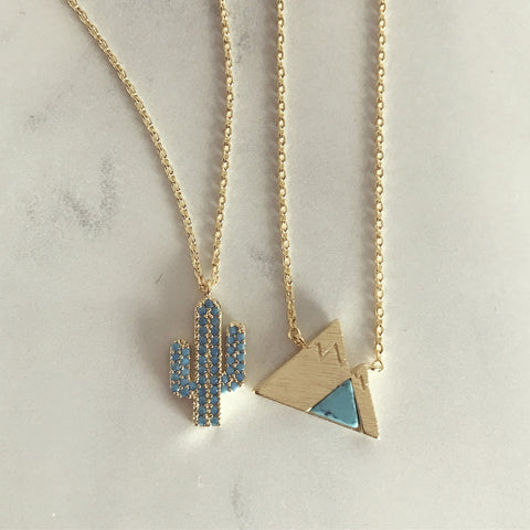 Turquoise Mountain - Necklace