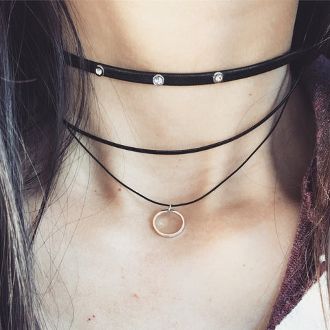 JANET LAYERED CHOKER - Necklace