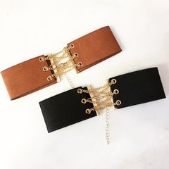 CORSET CHAIN CHOKER -Necklace