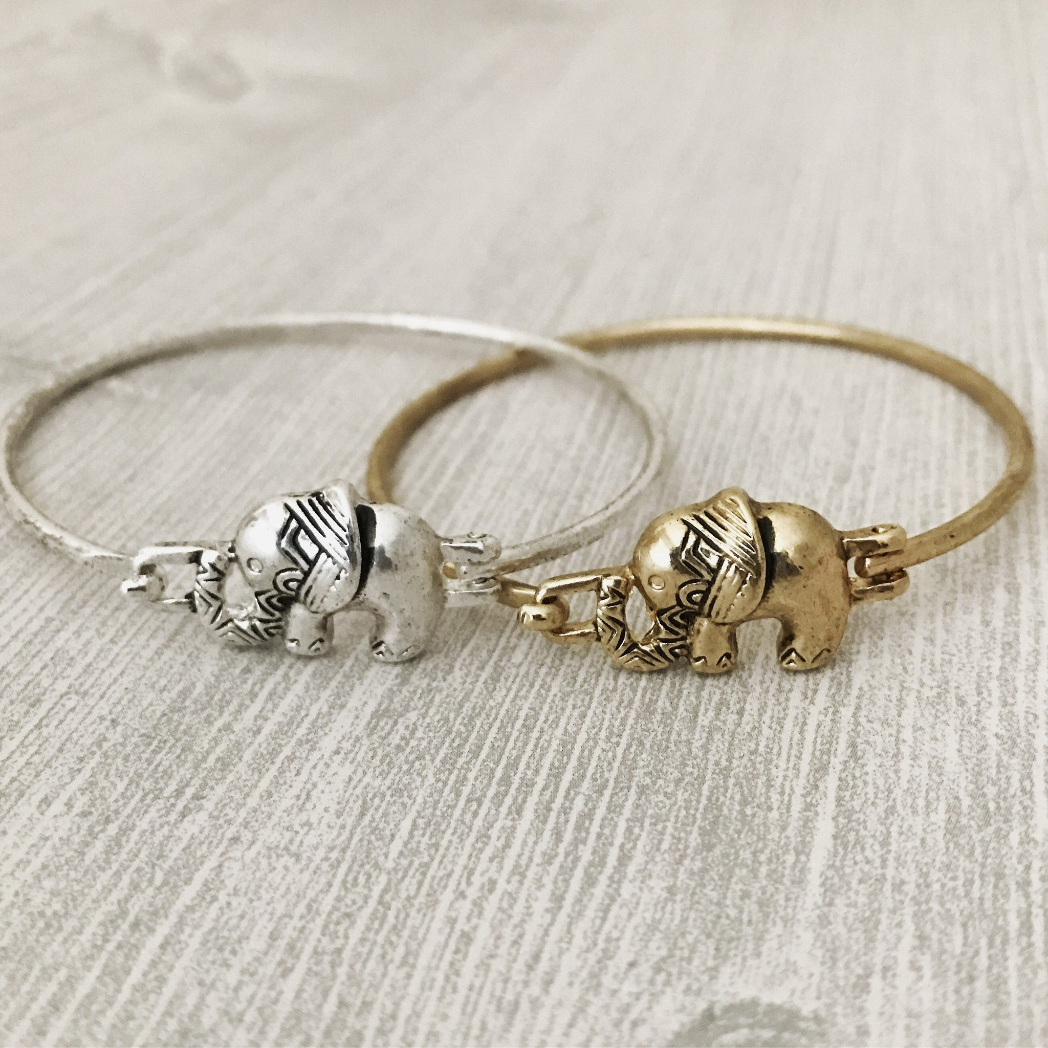 ANTIQUE ELEPHANT - Bracelet