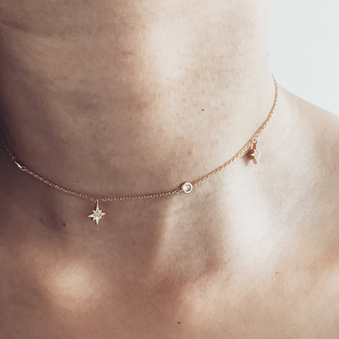 NORTHERN STAR -Necklace