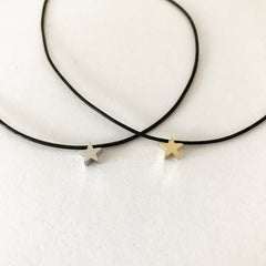TINY STAR CHOKER -Necklace
