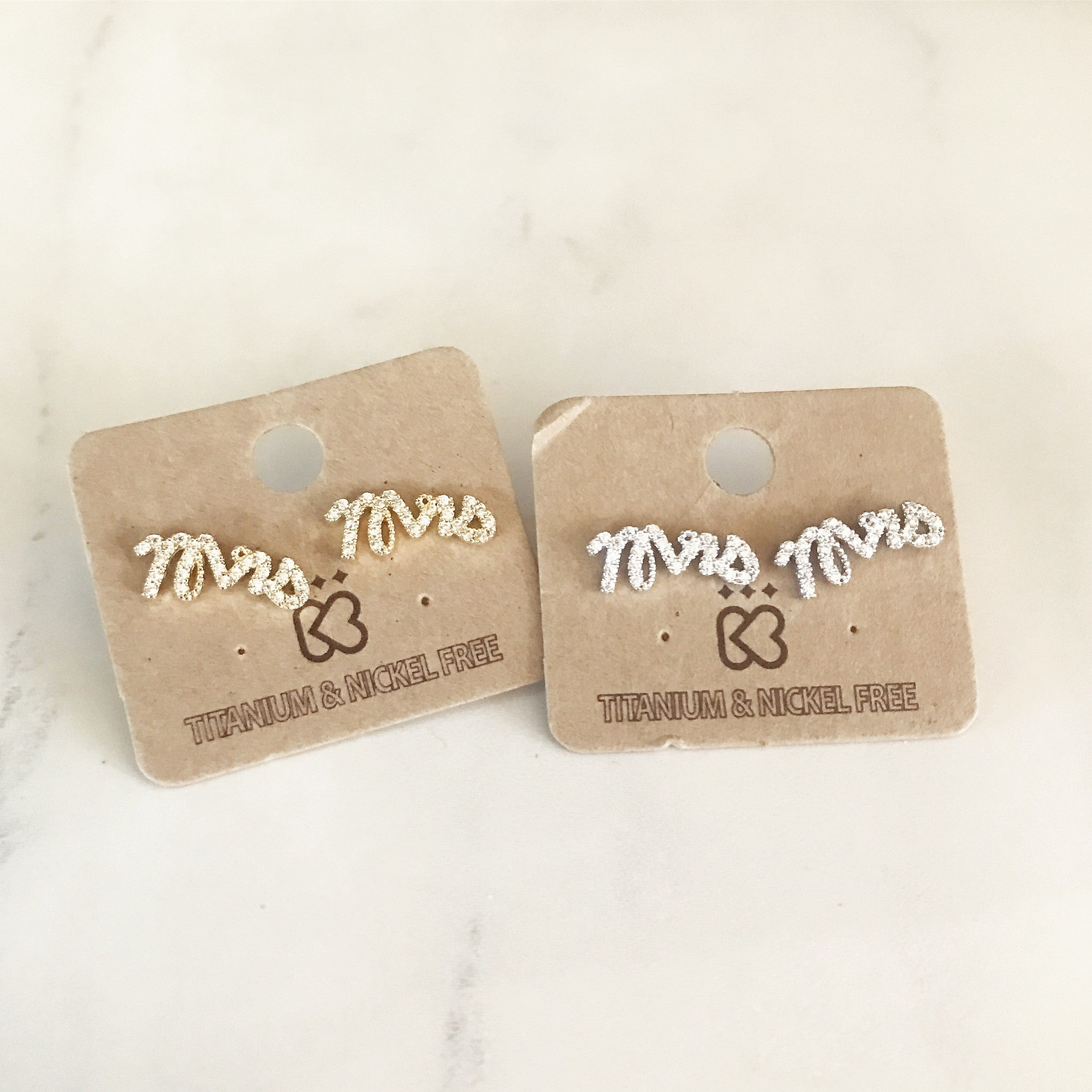 PAVE MRS -Earrings