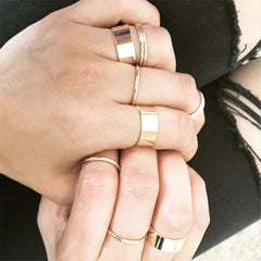 WILDFLOWER RING SET - Rings