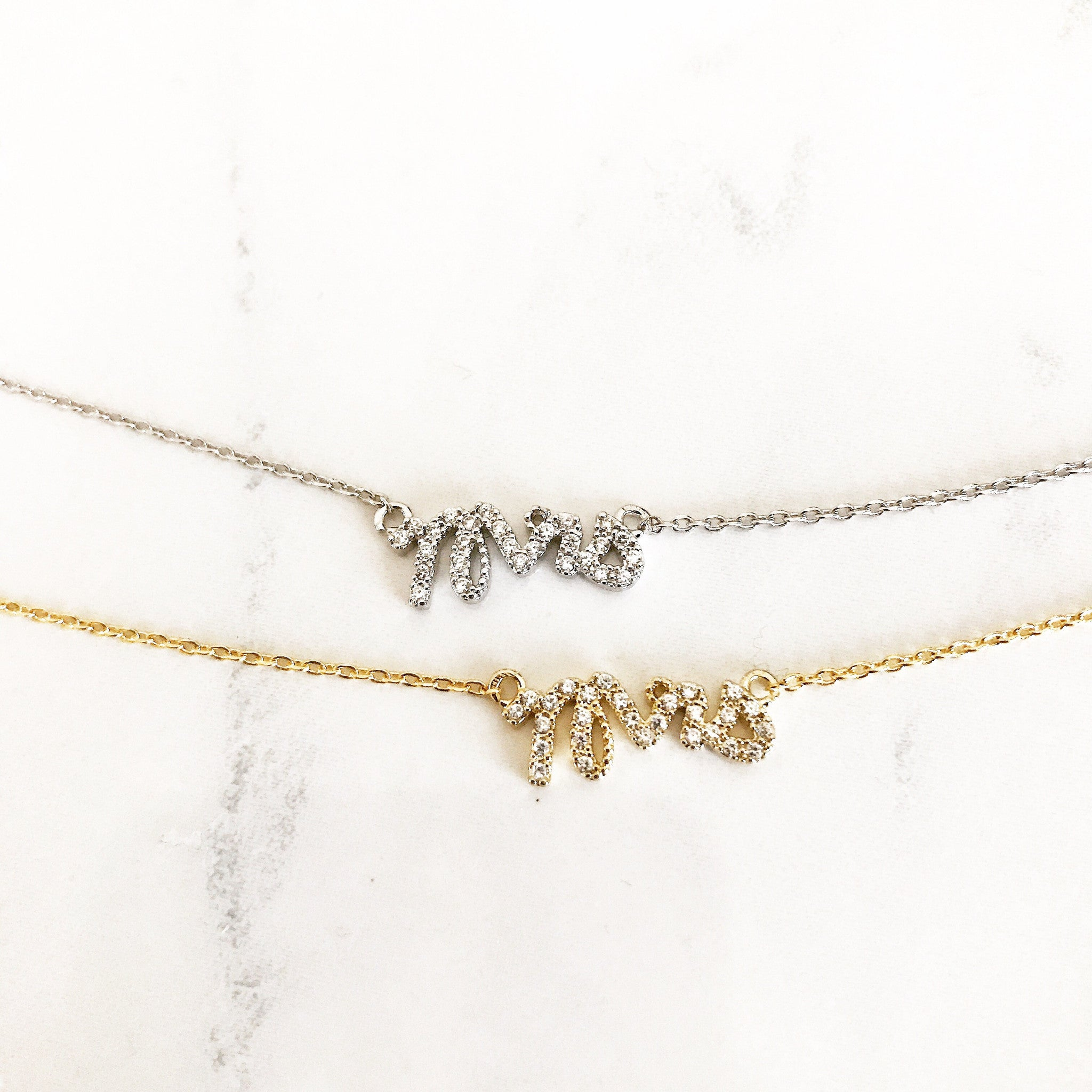PAVE MRS -Necklace