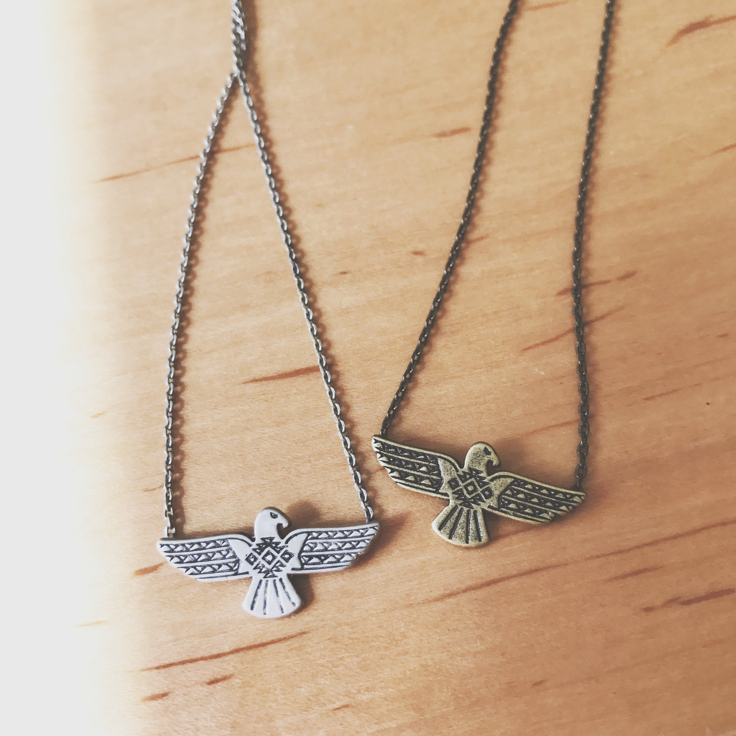 ANTIQUE EAGLE - NECKLACE