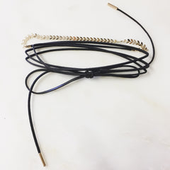 UNIQUE WRAP CHOKER - Necklace